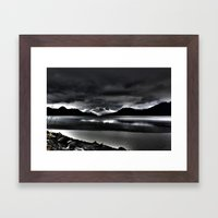 Turnagain Arm (Alaska) Framed Art Print