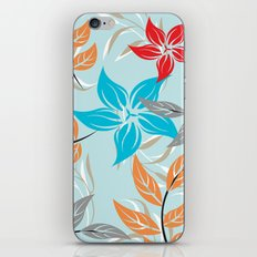 Floral Pattern #32 iPhone & iPod Skin
