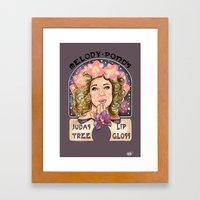 Melody Pond's Judas Tree Lipgloss 2.0 Framed Art Print