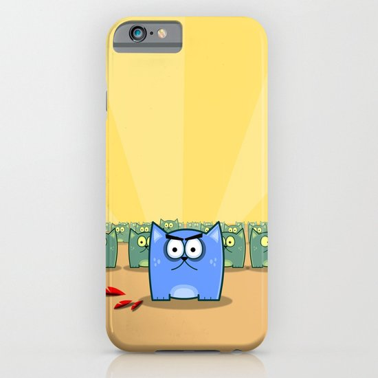Angry Cats iPhone & iPod Case