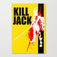 KILL JACK - ASSASSIN Canvas Print