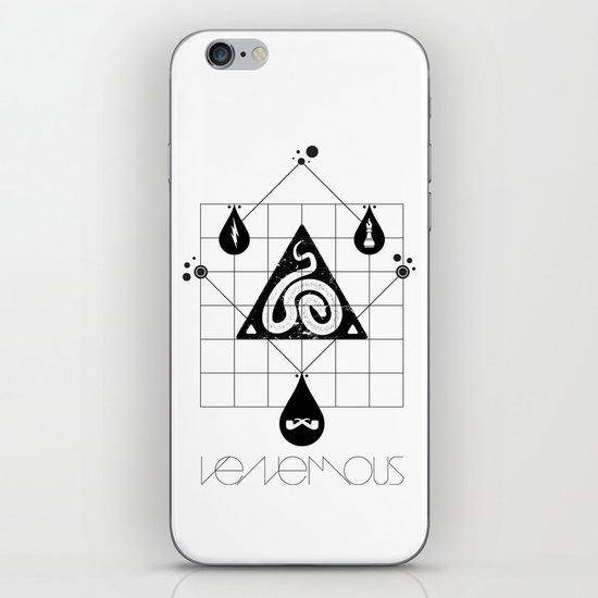 Venemous. iPhone & iPod Skin