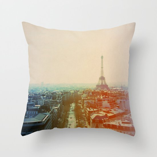 Iron Lady Throw Pillow