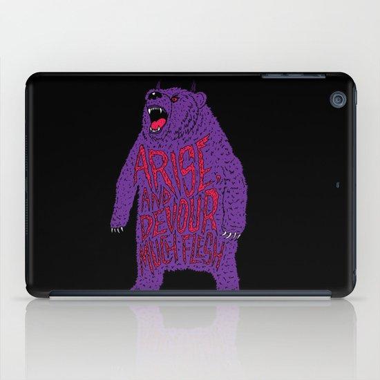 Arise and Devour Much Flesh iPad Case