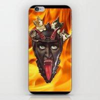 Krampuss Kitty iPhone & iPod Skin