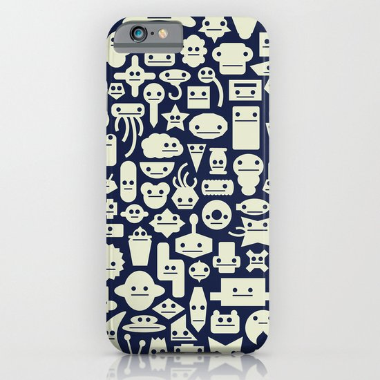 Shapes With Faces iPhone & iPod Case