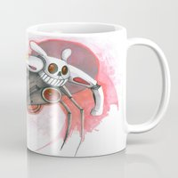 Attack Of The Bunny Bot Mug