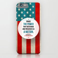 Preserved us a Nation iPhone 6s Slim Case