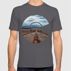 Colorado Mens Fitted Tee Asphalt SMALL