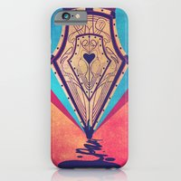 iPhone & iPod Case featuring The Pen by Jonathan Trier