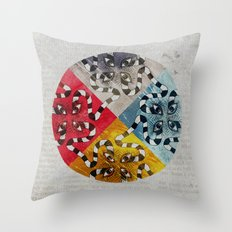 Wormeyes Throw Pillow