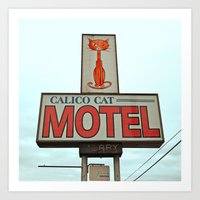 The Calico Cat Art Print