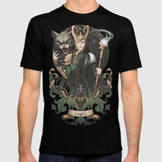 House of Loki: Sons of Mischief MEDIUM Mens Fitted Tee Black