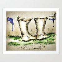 Tom Sawyer Art Print