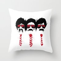 The Posse Throw Pillow