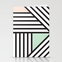 Abstract Angles TOO Stationery Cards