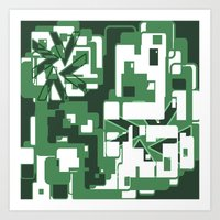 The Green City Art Print