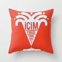 TOMA Throw Pillow