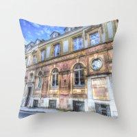 Victorian London Throw Pillow