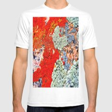 Likin' This Lichen Mens Fitted Tee White SMALL