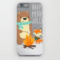 Happy Merry Jolly iPhone 6 Slim Case