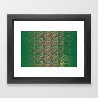 Spiral Framed Art Print