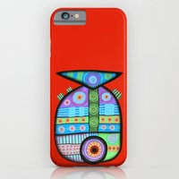 iPhone & iPod Case featuring Fish which ate ship by Rudolf Brancovsky