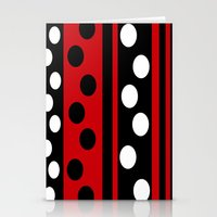 Stripes & Dots Stationery Cards