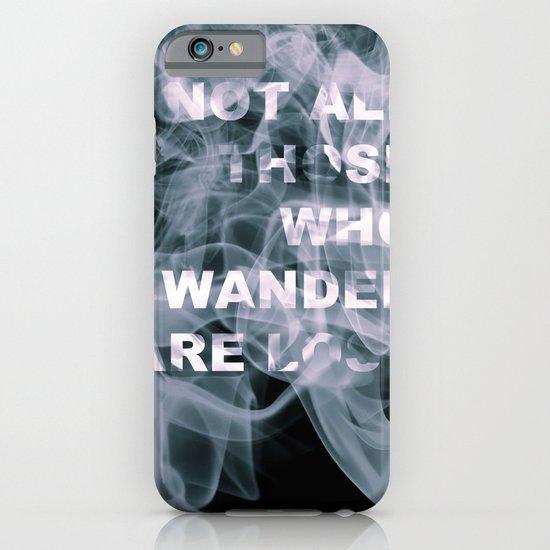 Smoke Quote iPhone & iPod Case
