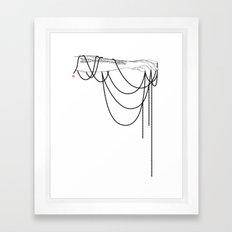 Black Pearl Dream Framed Art Print