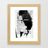 A Sort Of Triumph Framed Art Print