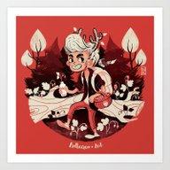 Strawberry Season Art Print