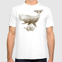 Tea at 2,000 Feet Mens Fitted Tee White SMALL
