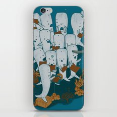 Whale songs iPhone & iPod Skin