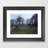 Clava Cairns Framed Art Print