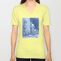 Victor And Nora, Mr. Fre… Unisex V-Neck