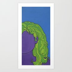 self portrait 3 Art Print