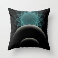 BLUE DWARF Throw Pillow