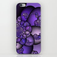 Perplexity Of Purple iPhone & iPod Skin