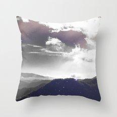 Galaxy Mountain #society6 #buyart #decor Throw Pillow