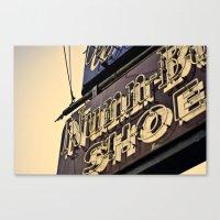 Nunn Shoes Canvas Print