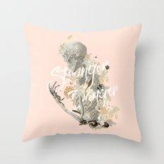 Stranger Danger I Throw Pillow