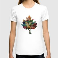 fall T-shirts featuring Fall is Back! by Klara Acel