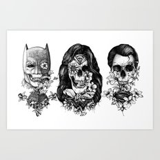 World Finest Series. Art Print