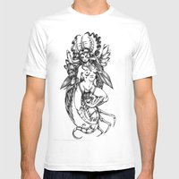 Period Mens Fitted Tee White SMALL