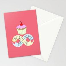 Infinite cake Stationery Cards