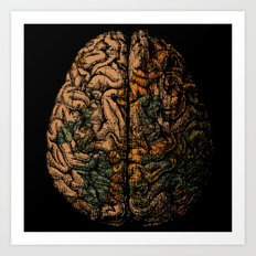 Always On My Mind - Brai… Art Print