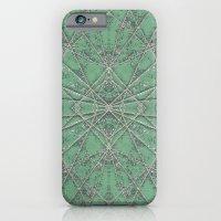 Snowflake Mint iPhone 6 Slim Case
