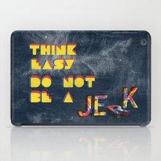 Think easy. iPad Case