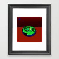 Do-nut Disturb! Framed Art Print